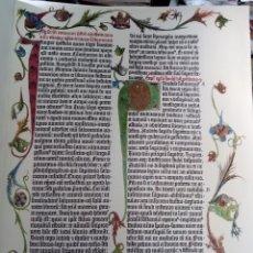 Libros antiguos: LA BIBLIA DE GUTENBERG. BPE. VICENT GARCIA. VALENCIA, 1995. FACSIMIL. Lote 130090430