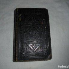 Libros antiguos: OFICIO DE LA SEMANA SANTA Y SEMANA DE PASCUA EN LATIN Y CASTELLANO.1888.LEER DESCRIPCION. Lote 126809215