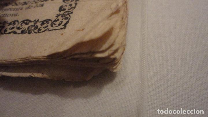 Libros antiguos: NOVENA.SAN JUAN NEPOMUCENO.PARROQUIA STA.MARIA MAGDALENA.SEVILLA SIGLO XVIII.FRANCISCO DE SOLIS - Foto 18 - 127593403