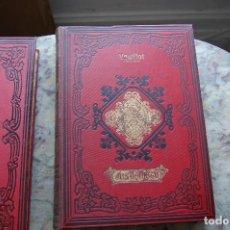 Libros antiguos: JESUCRISTO (2 TOMOS) POR L.VEUILLOT. EDIT. MARCELINO BORDOY. 1881. GRAN FORMATO. TAPA DURA.. Lote 128246923