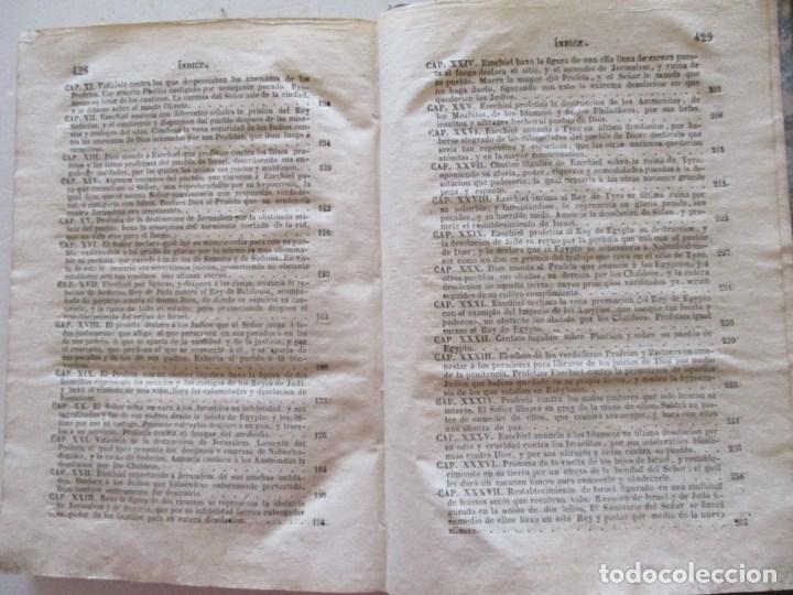 Libros antiguos: DON PHELIPE SCIO DE SAN MIGUEL La Biblia Vulgata Latina,Tomo X .RM86963 - Foto 4 - 128273079