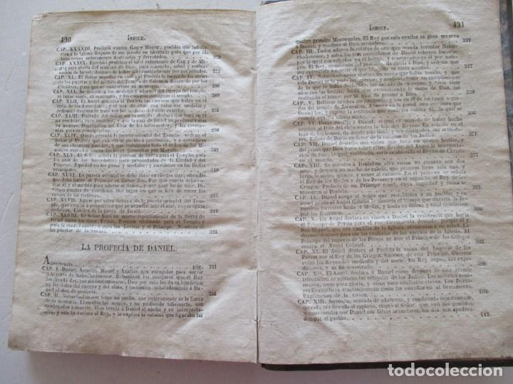 Libros antiguos: DON PHELIPE SCIO DE SAN MIGUEL La Biblia Vulgata Latina,Tomo X .RM86963 - Foto 5 - 128273079