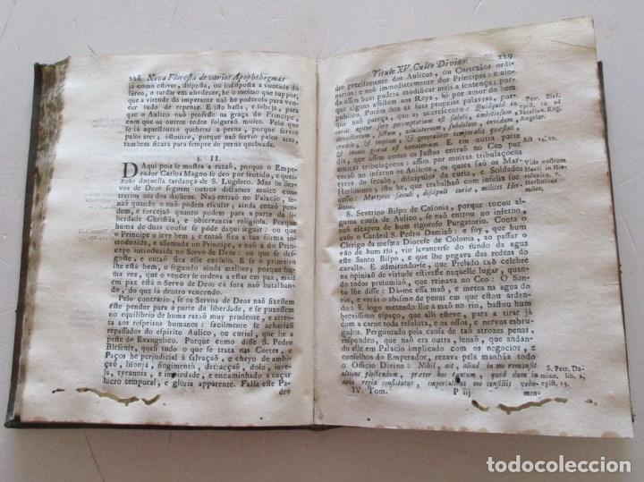 Libros antiguos: PADRE MANOEL BERNARDES. Nova Floresta, ou silva de varios...RM86973 - Foto 3 - 128275555