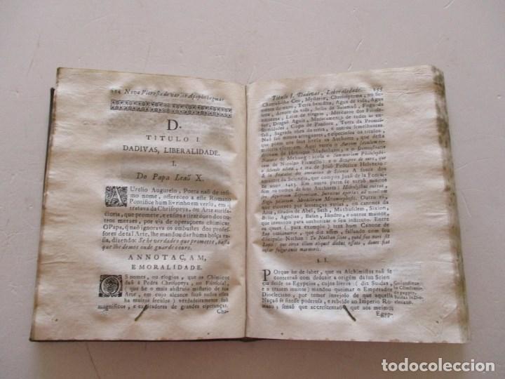 Libros antiguos: PADRE MANOEL BERNARDES. Nova Floresta, ou silva de varios...RM86973 - Foto 4 - 128275555