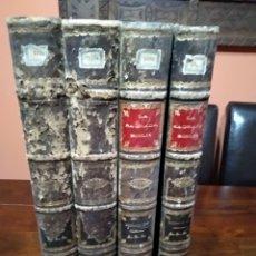 Libros antiguos: SAGRADA BIBLIA MONTANER Y SIMON 1871 4 TOMOS. Lote 128450399