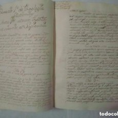 Libros antiguos: EXCEPCIONAL MANUSCRITO DEL SIGLO XVIII SOBRE LOS ÁNGELES.TOMÁS DE AQUINO. 492 PÁG. Lote 128495071