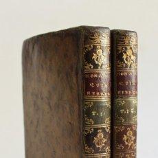 Libros antiguos: MONARQUIA HEBREA, ESCRITA POR... NUEVA EDICION. CORREGIDA DE MUCHOS ERRORES, Y SOBRE EL.... Lote 123160167