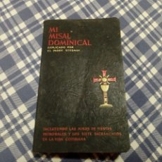 Libri antichi: MI MISAL DOMINICAL PADRE STEDMAN. Lote 128553795