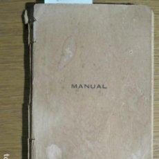 Libros antiguos: MANUAL DELS PELEGRINS DE MALLORCA A NTRA. SRA. DE LOURDES. TIP. CATÓLICA, 1908. Lote 128645783