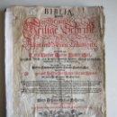 Libros antiguos: 1700-BIBLIA DE LUTERO.EVANGELIOS SAN JUAN, MARCOS, LUCAS Y MATEO. CON 56 GRABADOS. ORIGINAL. Lote 159056726