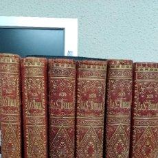 Libros antiguos: LA SAGRADA BIBLIA, COLECCIÓN 6 TOMOS (2 NUEVO TESTAMENTO, 4 ANTIGUO TESTAMENTO). Lote 129976251