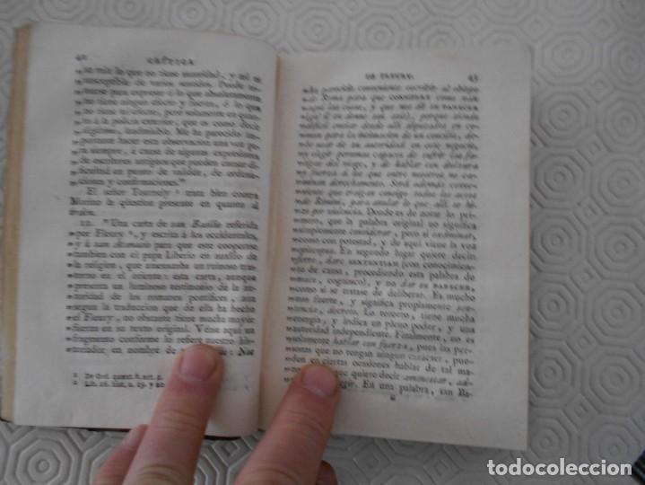 Libros antiguos: CRITICA DE LA HISTORIA ECLESIASTICA Y DE LOS DISCURSOS DEL SEÑOR ABAD CLAUDIO FLEURY, CON UN APENDIC - Foto 2 - 130921216