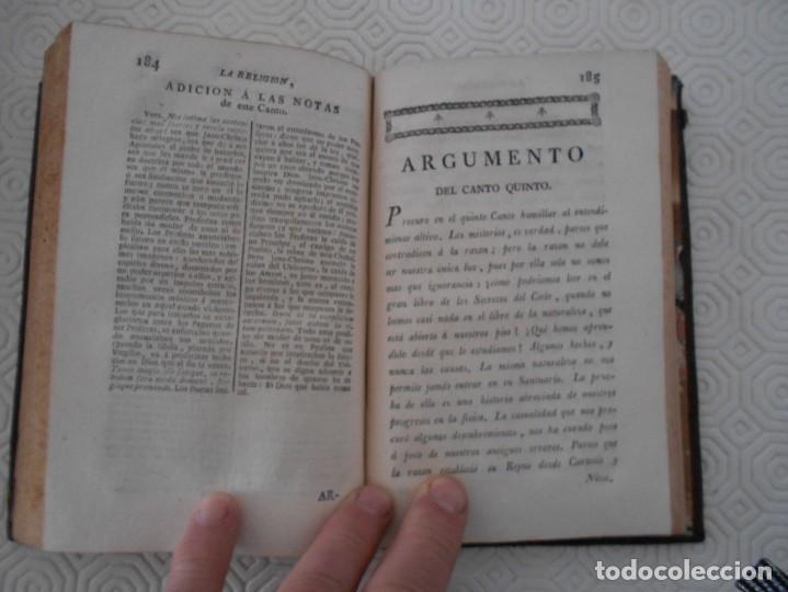 Libros antiguos: LA RELIGION. POEMA DE LUIS RACINE EN SEIS CANTOS TRADUCIDO EN ENDECASILABOS CASTELLANOS POR D. BERNA - Foto 3 - 130921804
