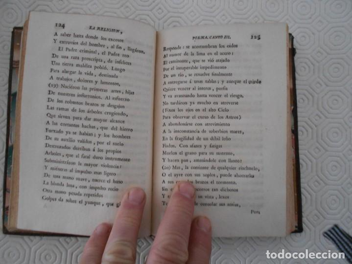 Libros antiguos: LA RELIGION. POEMA DE LUIS RACINE EN SEIS CANTOS TRADUCIDO EN ENDECASILABOS CASTELLANOS POR D. BERNA - Foto 4 - 130921804