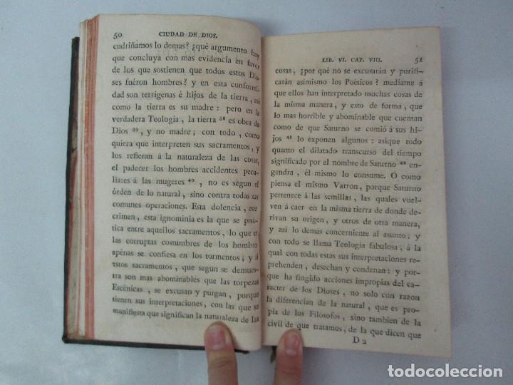 Libros antiguos: LA CIUDAD DE DIOS DEL GRAN PADRE Y DOCTOR DE LA IGLESIA SAN AGUSTIN OBISPO DE HIPONA. TOMO IV. 1793. - Foto 11 - 131307251