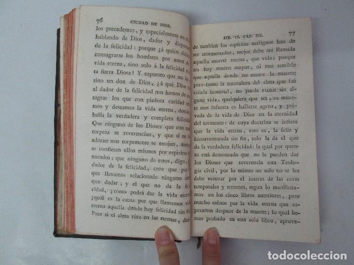 Libros antiguos: LA CIUDAD DE DIOS DEL GRAN PADRE Y DOCTOR DE LA IGLESIA SAN AGUSTIN OBISPO DE HIPONA. TOMO IV. 1793. - Foto 12 - 131307251