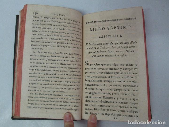Libros antiguos: LA CIUDAD DE DIOS DEL GRAN PADRE Y DOCTOR DE LA IGLESIA SAN AGUSTIN OBISPO DE HIPONA. TOMO IV. 1793. - Foto 13 - 131307251