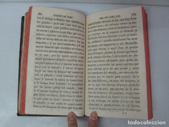 Libros antiguos: LA CIUDAD DE DIOS DEL GRAN PADRE Y DOCTOR DE LA IGLESIA SAN AGUSTIN OBISPO DE HIPONA. TOMO IV. 1793. - Foto 14 - 131307251