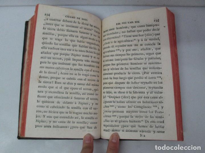 Libros antiguos: LA CIUDAD DE DIOS DEL GRAN PADRE Y DOCTOR DE LA IGLESIA SAN AGUSTIN OBISPO DE HIPONA. TOMO IV. 1793. - Foto 15 - 131307251