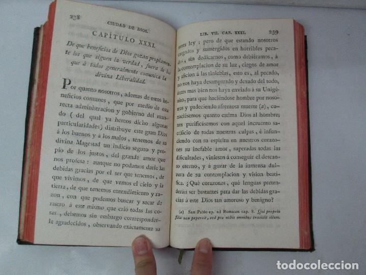 Libros antiguos: LA CIUDAD DE DIOS DEL GRAN PADRE Y DOCTOR DE LA IGLESIA SAN AGUSTIN OBISPO DE HIPONA. TOMO IV. 1793. - Foto 17 - 131307251