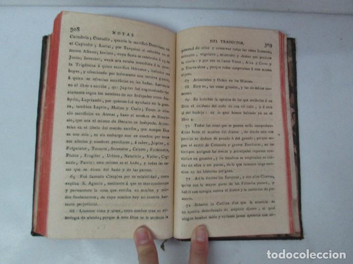 Libros antiguos: LA CIUDAD DE DIOS DEL GRAN PADRE Y DOCTOR DE LA IGLESIA SAN AGUSTIN OBISPO DE HIPONA. TOMO IV. 1793. - Foto 19 - 131307251