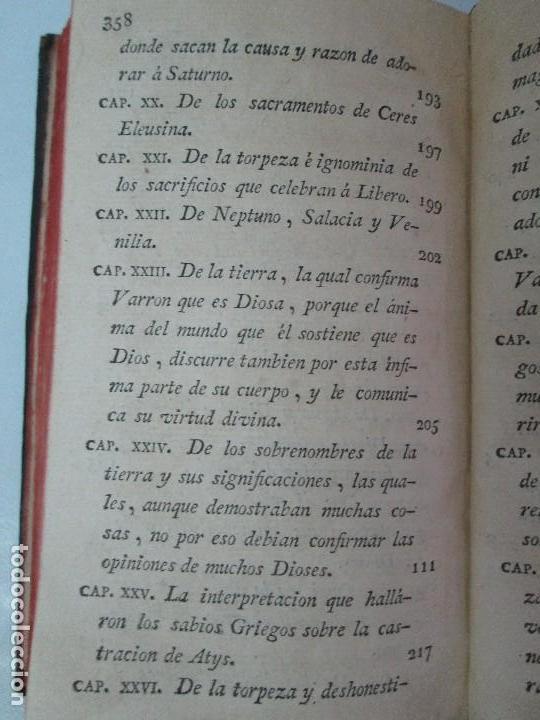 Libros antiguos: LA CIUDAD DE DIOS DEL GRAN PADRE Y DOCTOR DE LA IGLESIA SAN AGUSTIN OBISPO DE HIPONA. TOMO IV. 1793. - Foto 26 - 131307251