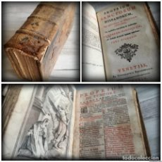 Libros antiguos: BREVIARIUM ROMANUM (1744) - LIBRO DEL SIGLO XVIII. Lote 131688922
