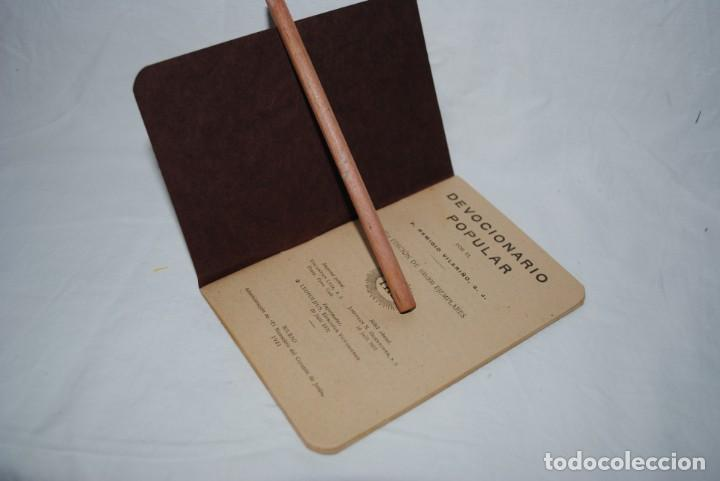 Libros antiguos: DEVOCIONARIO POPULAR . P. VILARIÑO - Foto 2 - 131739926