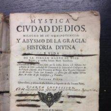 Libros antiguos: MYSTICA CIUDAD DE DIOS, SOR MARIA DE JESUS DE AGREDA, 1685 (TERCERA PARTE). Lote 131817846