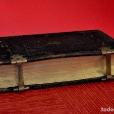 Libros antiguos: OFFICIUM HEBDOMAE SANCTE ET PASCHATIS SECUNDUM MISSALE ET BREVIAR ROMANUM JUSSU ED. 1874 ANCLAJES. Lote 132382482