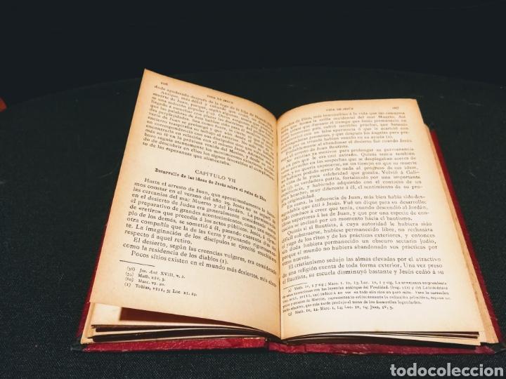 Libros antiguos: VIDA DE JESÚS - ERNESTO RENAN.CASA EDITORIAL MAUCCI.BARCELONA.AÑO 1897 - Foto 6 - 132435931