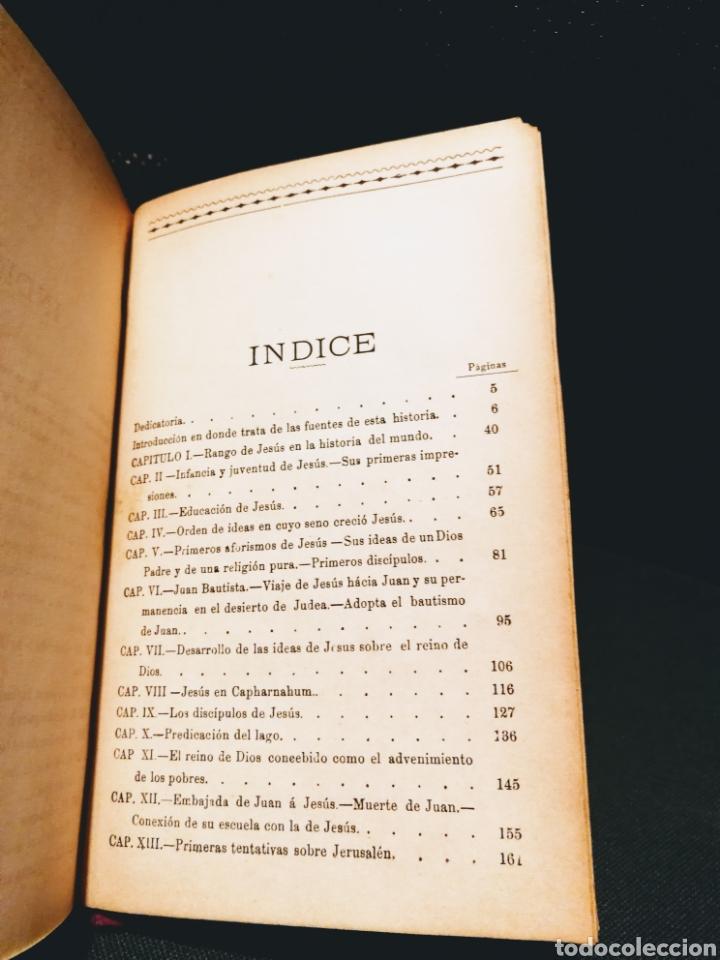 Libros antiguos: VIDA DE JESÚS - ERNESTO RENAN.CASA EDITORIAL MAUCCI.BARCELONA.AÑO 1897 - Foto 7 - 132435931