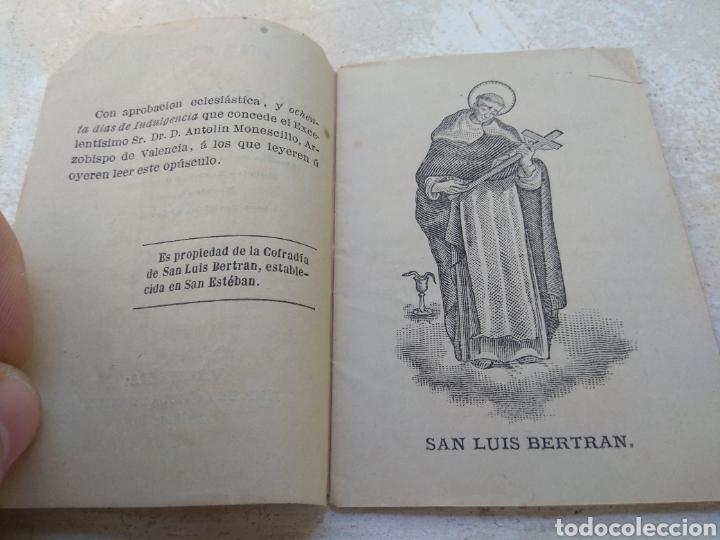 Libros antiguos: Vida y Milagros de San Luis Beltrán - Valencia 1881 - Foto 3 - 132503347