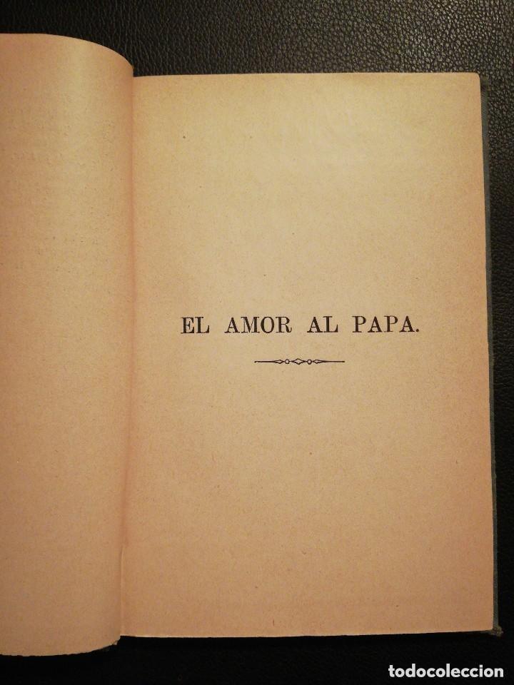 Libros antiguos: Libro Las Tres Rosas de los Escogidos - Monseñor de Segur 1890 - Foto 6 - 132695834