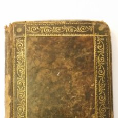 Libros antiguos: 1781 - NOVENA DEL GLORIOSO SAN ANTONIO DE PADUA - ENCUADERNACIÓN. Lote 133005506