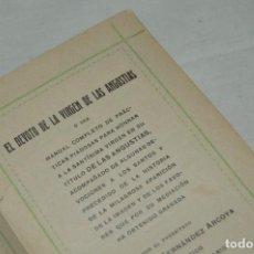 Libros antiguos: ANTIGUO LIBRO - EL DEVOTO DE LA VIRGEN DE LAS ANGUSTIAS - AÑO 1913 EN GRANADA - VINTAGE - ENVÍO 24H. Lote 133037006