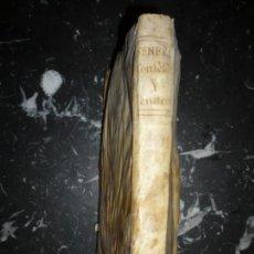 Libros antiguos: EL CONFESSOR INSTRUIDO --EL PENITENTE INSTRUIDO PABLO SEÑERI 1743 MADRID 5ª IMPRESION. Lote 133176690
