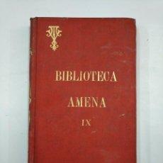 Libros antiguos: OBRAS AMENAS DEL P. VICTOR VAN TRICHT. ENTUSIASMO. CONFERENCIA FAMILIAR. BILBAO 1902. TDK171. Lote 133210598