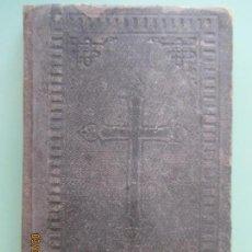 Libros antiguos: DEVOCIONARIO MANUAL ARREGLADO POR ALGUNOS PADRES. BILBAO 1896. 22ª EDICIÓN. Lote 133244874