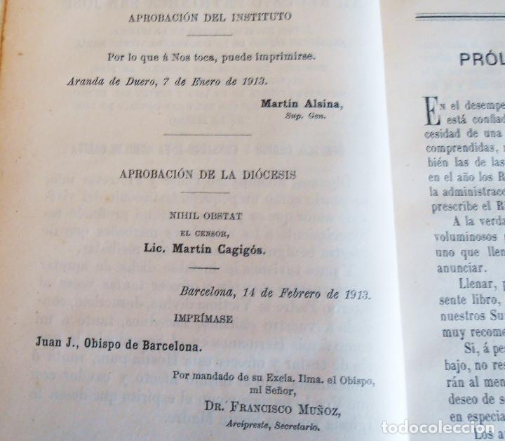 Libros antiguos: MANUAL LITURGICO, 2 TOMOS , SOLANS CASANUEVA - Foto 12 - 194280717