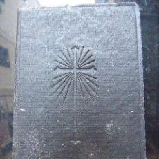Libros antiguos: MISAL COMPLETO LATINO - PADRE VICENTE MOLINA - EDIT. HISPANIA MBC. Lote 134099598