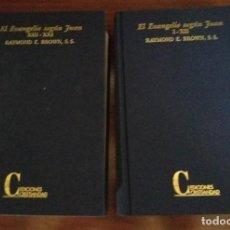 Libros antiguos: EL EVANGELIO SEGÚN SAN JUAN. Lote 134365274