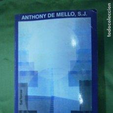 Libros antiguos: (F.1) CONTACTO CON DIOS POR ANTHONY DE MELLO, S.J. AÑO 1998. Lote 134751882
