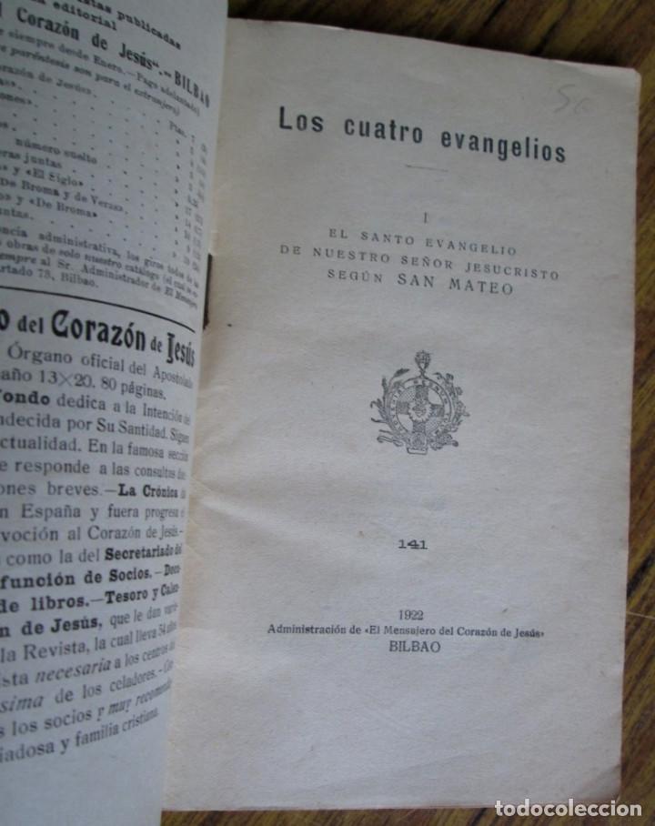 Libros antiguos: El Santo evangelio de nuestro Sr. Jesucristo según San Mateo 1922 - Foto 3 - 135367358
