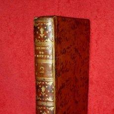 Libros antiguos: AÑO 1788 - EL PECADO MORTAL, INSTRUCCIÓN SOBRE LAS INDULGENCIAS - DEL JESUITA GEOFFROY - INTERESANTE. Lote 135735023