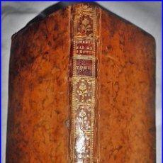 Libros antiguos: AÑO 1764; LIBRO DEL SIGLO XVIII MUY BIEN CONSERVADO. CON ELEGANTE LOMO.. Lote 135847266