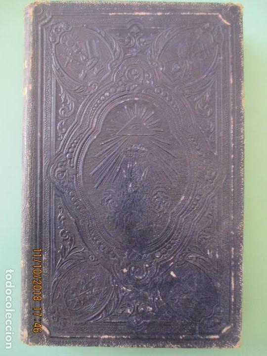 AÑO CRISTIANO. PADRE JUAN CROISSET. EJERCICIOS DEVOTOS. TOMO II. BARCELONA 1863 (Libros Antiguos, Raros y Curiosos - Religión)