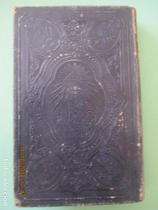 Libros antiguos: AÑO CRISTIANO. PADRE JUAN CROISSET. EJERCICIOS DEVOTOS. TOMO II. BARCELONA 1863 - Foto 3 - 136047706