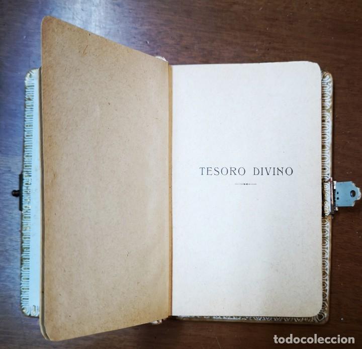 Libros antiguos: TESORO DIVINO-NUEVO DEVOCIONARIO-J.A.DE LAVALLE-BERNARDO DE LA CRUZ-ED.BERNADÁS Y MIR-BARCELONA - Foto 4 - 136205190