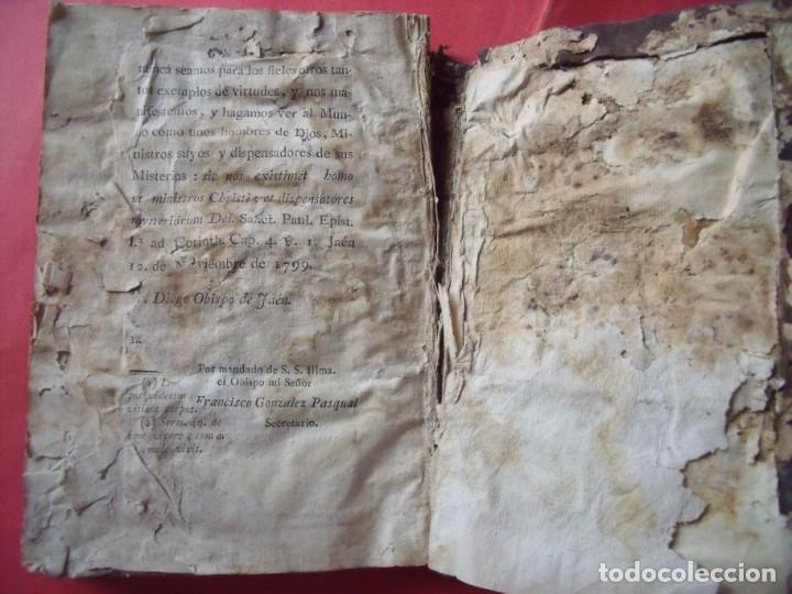 Libros antiguos: FRAY DIEGO MELO DE PORTUGAL.-OBISPO DE JAEN.-PASTORAL.-IMPRENTA PEDRO DOBLAS.-JAEN.-AÑO 1799. - Foto 3 - 136260962